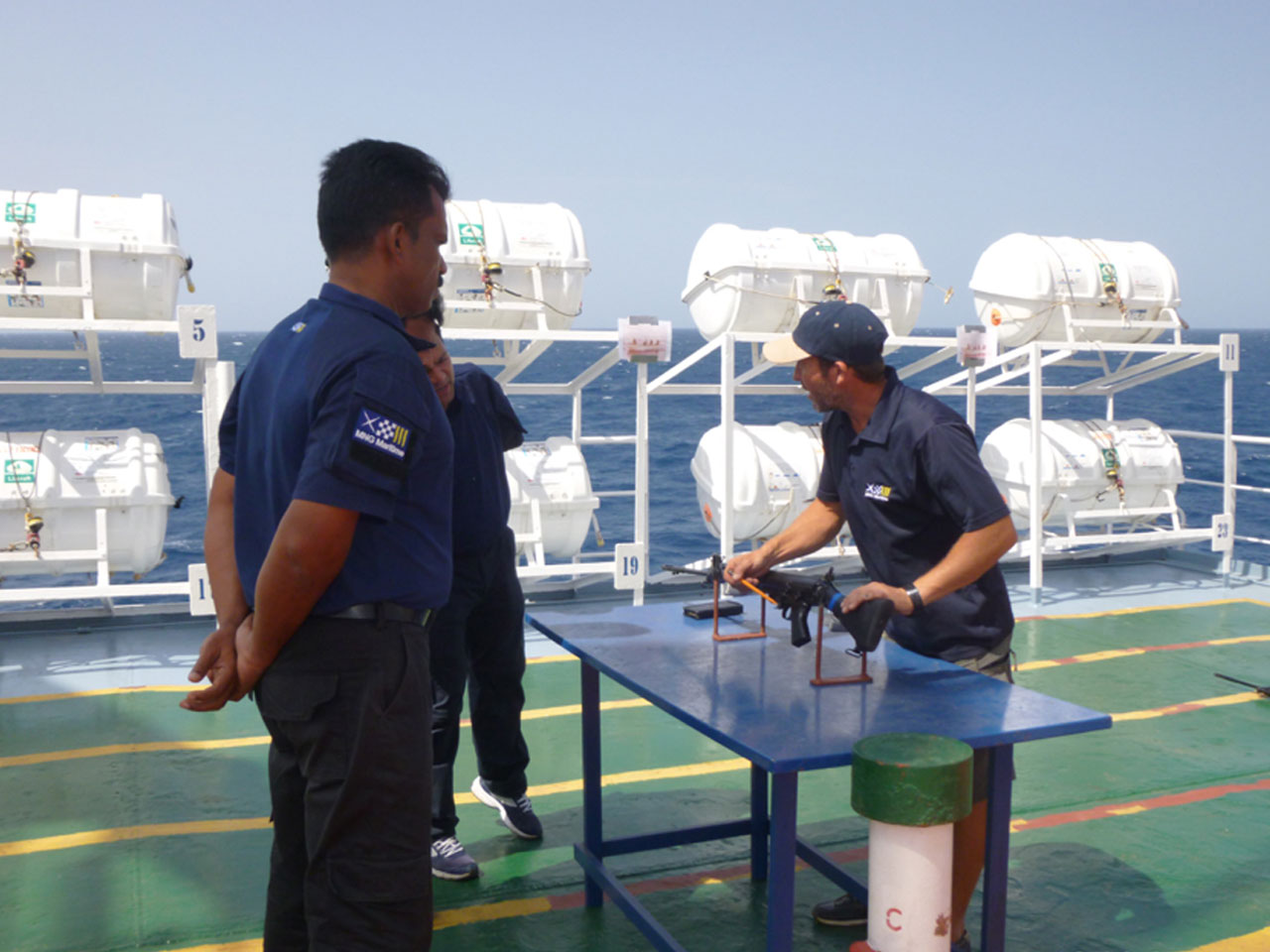 Maritime Military Training Services | MNG Maritime